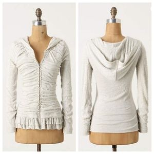 Anthropologie Superfluous Bellows Hoodie XS